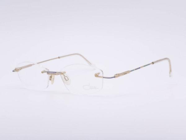 Cazal 412 ladies rimless glasses