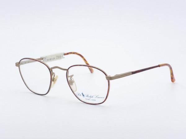 Polo Ralph Lauren 32 Round Metal Men's Glasses Amber Color GrauGlasses