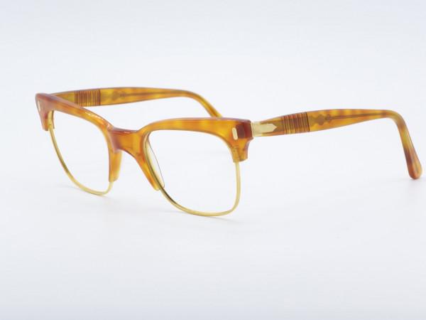 Persol Ratti Cellor Honig Gold Panto Form Männer Brille Pfeil GrauGlasses