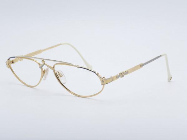 MCM Munich Golden Woman Metal Frame Luxury Glasses Germany GrauGlasses