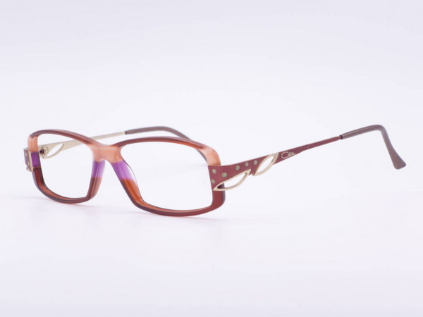CAZAL model 323 pink purple violet women glasses plastic frame with applications and rhinestones