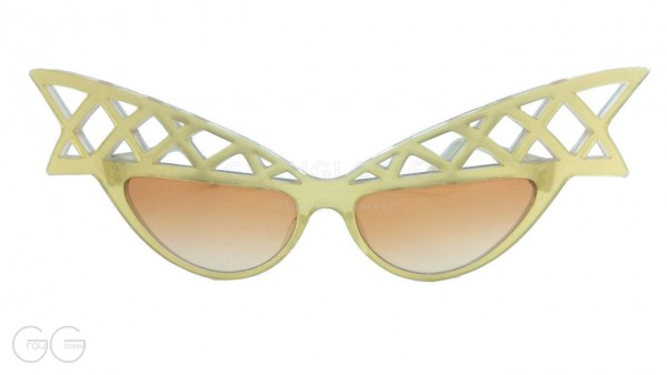 alain mikli Modell Wings Colour Gold Transparent
