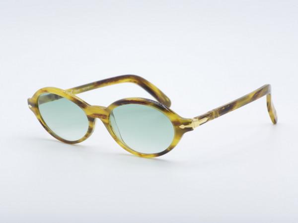 Persol Ratti Irene Oval 90s Ladies Sunglasses honey brown Woman Frame GrauGlasses