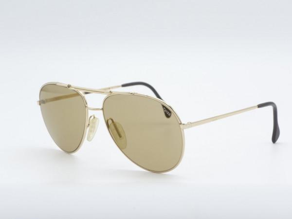 ZEISS 9222 Large Golden unique Pilot Style Men Sunglasses Germany