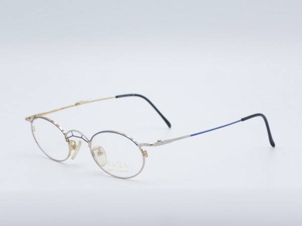 Taxi Casanova 284 oval metal glasses special frame men woman GrauGlasses