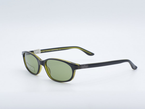 GUCCI rectangular sunglasses green frame Modern model GG2462/S GrauGlasses