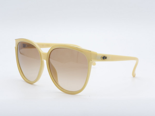 DIOR 2159 Butterfly Large 70s Sunglasses woman frame yellow GrauGlasses