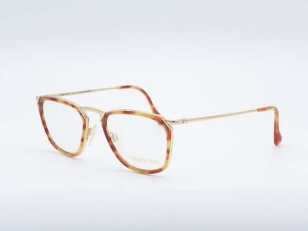 CERRUTI Men Glasses Model 1501 Amber Gold Plated GrauGlasses