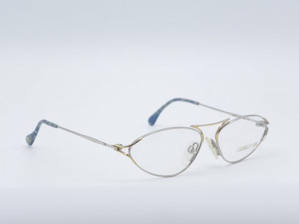 CERRUTI1881 oval silver metal women glasses