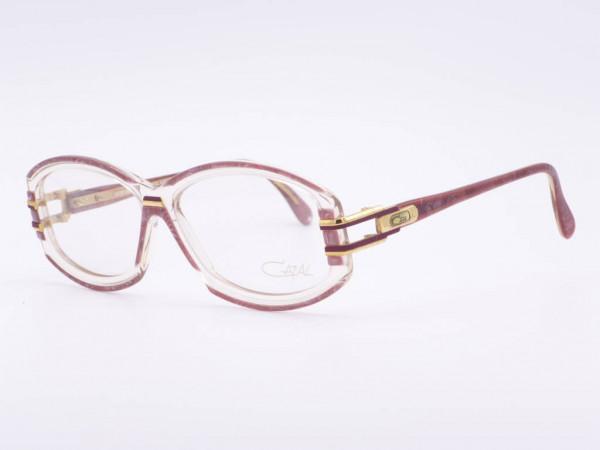 Cazal transparent plastic women frame model 198 vintage ladies glasses never worn new GrauGlassses