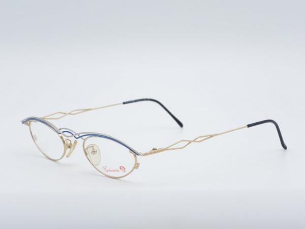 Casanova 45 oval woman vintage metal glasses rare frame GrauGlasses
