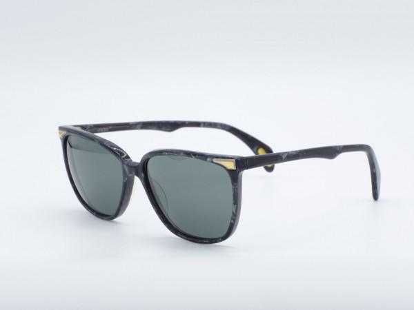VERSACE 443 Square Black Woman Sunglasses Ladies Vintage Glasses