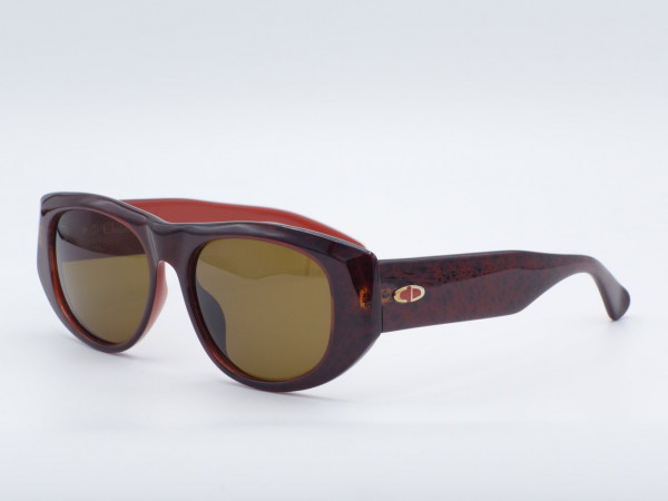 DIOR 2556 massiv rot Optyl Sonnenbrille Frau rechteckig Optyl Frame GrauGlasses