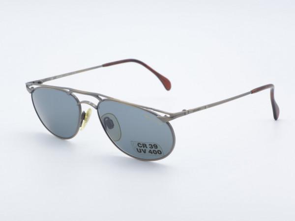 JAGUAR 3759 Oval Men Women Sunglasses Metal Frame Bar Design GrauGlasses