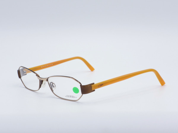 Cazal Concept 503 modern narrow ladies glasses silver metal frame GreyGlasses