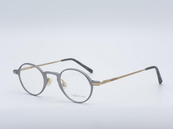 CERRUTI Round Metal Men Glasses Nerd Frame Model 1598 GrauGlasses