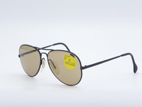 ZEISS 7028 Pilot Sunglasses black metal frame Germany