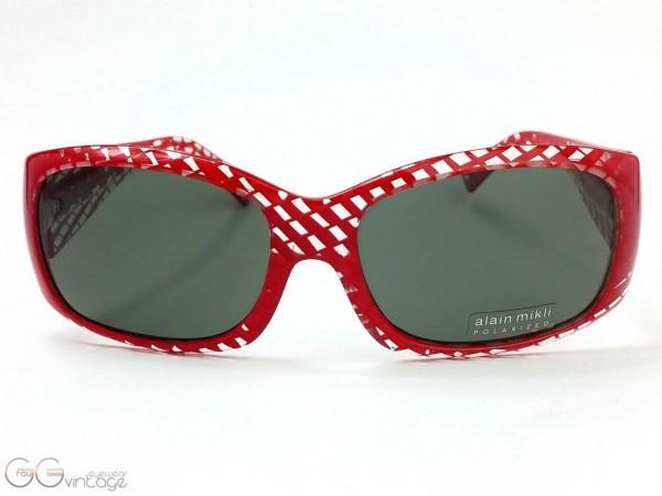 alain mikli sunglasses model A0538 Color 74 V1 / GrauGlasses | GG vintage eyewear