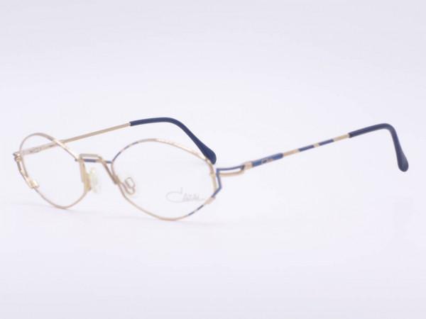 Cazal Vintage Metal Ladies Glasses Model 415 Playful Women Frame Patterned Frame GrauGlassses