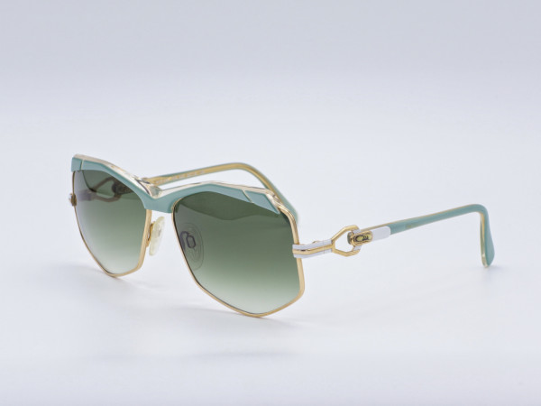 CAZAL 230 West Germany Ladies Sunglasses 80's Green Gradient Lenses New Unique GrauGlasses