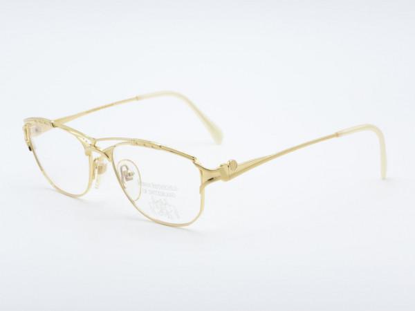 Roman Rothschild 1048 Woman Luxury Golden Ladies Glasses Switzerland GrauGlasses