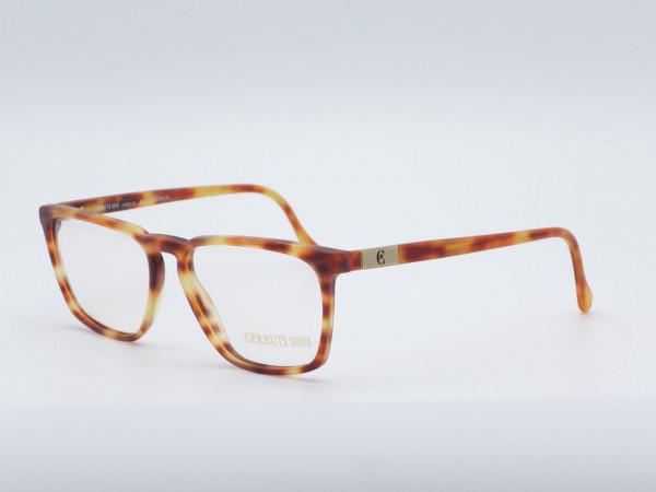 CERRUTI 1881 Herren Kunststoff Brille Modell 1301 Bernstein Honiggelb