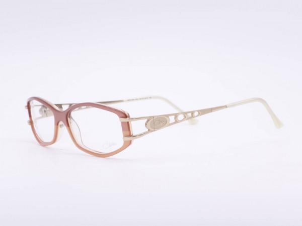 Cazal apricot women glasses rectangular two-tone plastic frame model 309