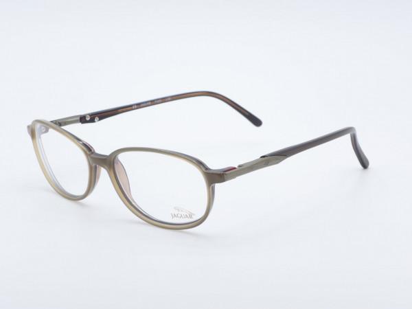 JAGUAR 3212 Damen Rechteckige Brille Kunststoffrahmen GrauGlasses