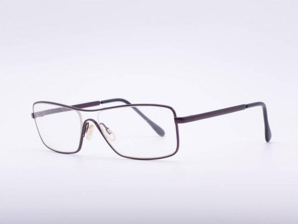 theo eyewear borsalino light men's glasses metal rectangle frame wine red Belgium GrauGlasses
