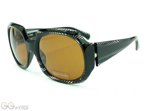 alain mikli Paris Sunglasses Oversized Model A0466-02 PACT