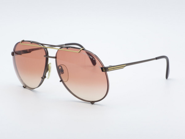 NEOSTYLE VIP Pilot Men Sunglasses Metal Frame Pink Gradient Lense Oversized Vintage Frame GrauGlasses