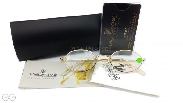 Swarovski ladies glasses with etui model S056 Color 6052