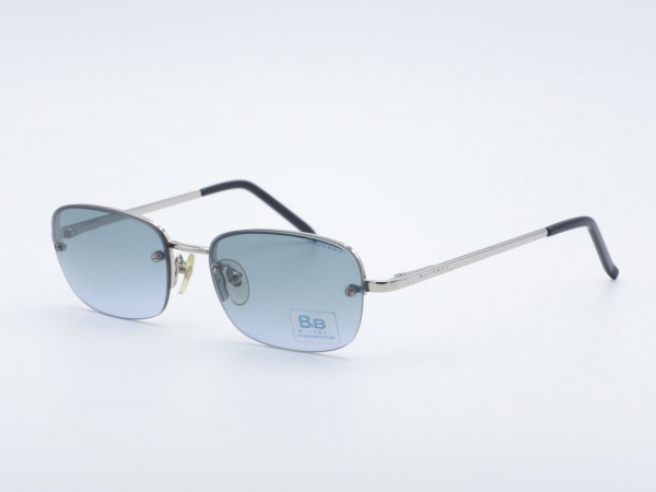 Safilo Bluebay rectangular metal men Sunglasses Spring hinges