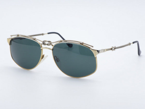 ZOLLITSCH 8599 Marine Navy Metal Men Sunglasses Sailors Knot GrauGlasses