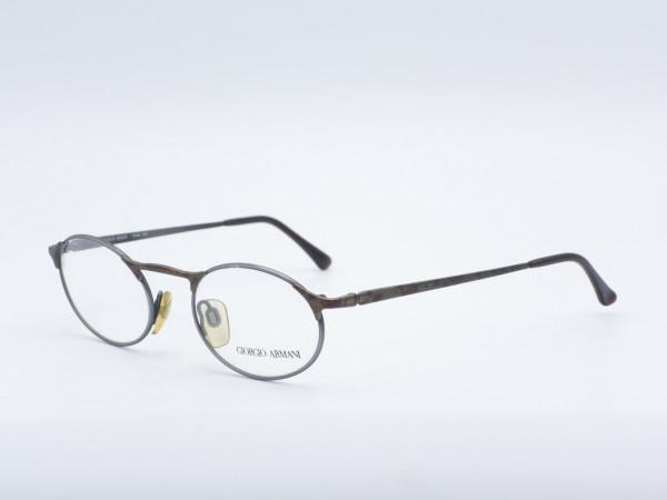 Giorgio Armani oval metal men frame glasses model 224 GrauGlasses