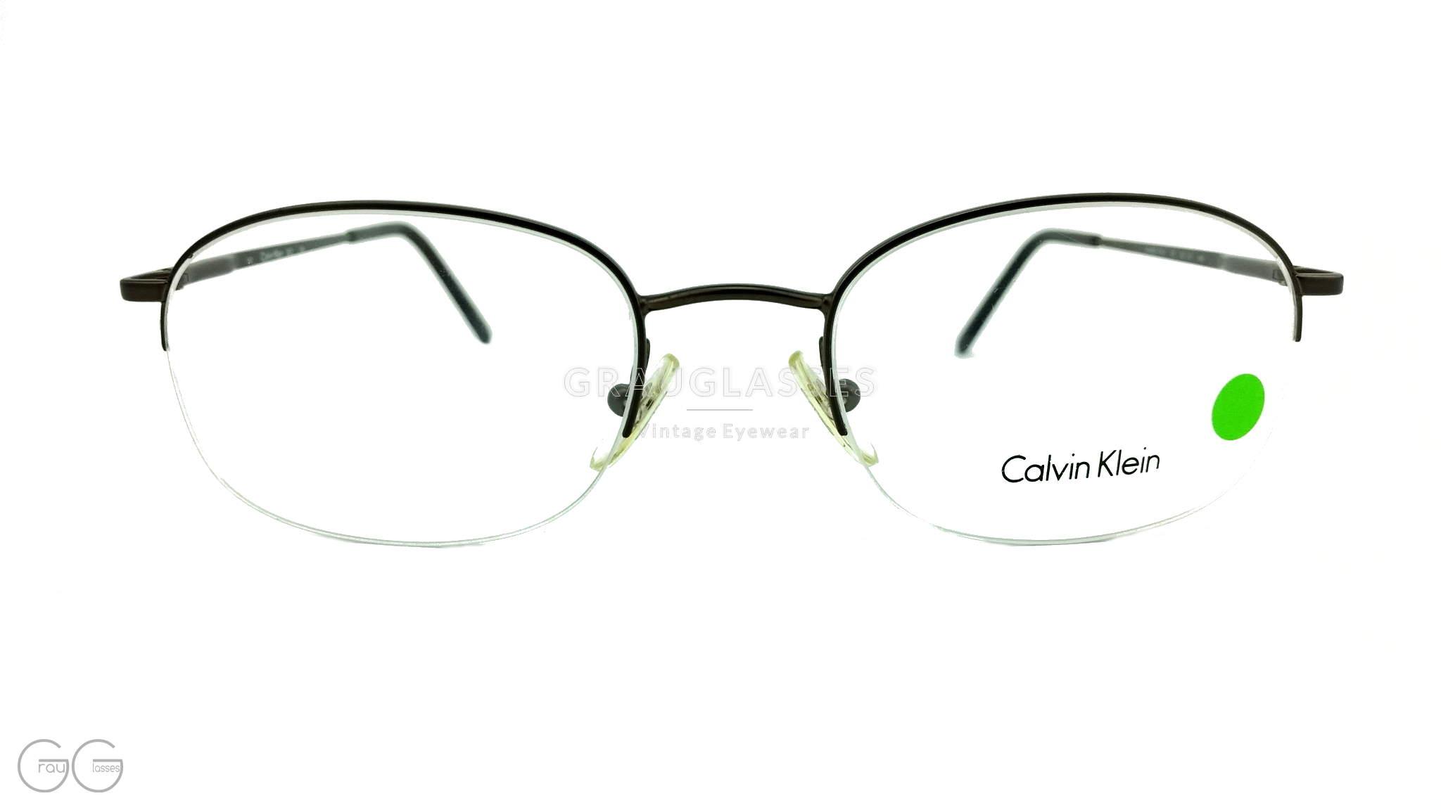 ziemlich cool Laufschuhe letzte Auswahl Calvin Klein Vintage Brille Modell 263 Color 589 Leichte schwarze ...