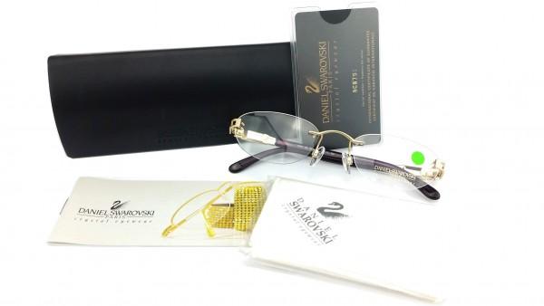 Swarovski glasses with etui model S149 Color 6053
