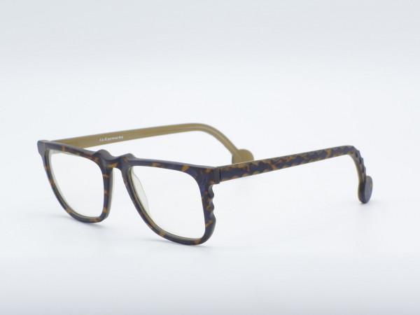 l.a. Eyeworks Square Patterned Men Glasses Model KEYS Plastic Vintage Frame GrauGlasses