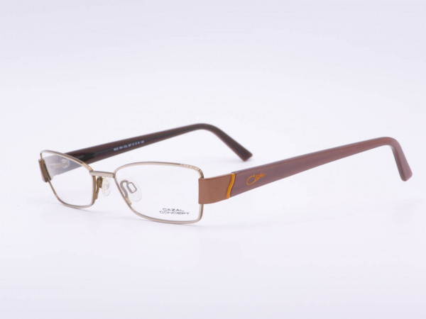 Cazal Conzept metal women glasses model 504 modern rectangular frame purple temples GrauGlassses