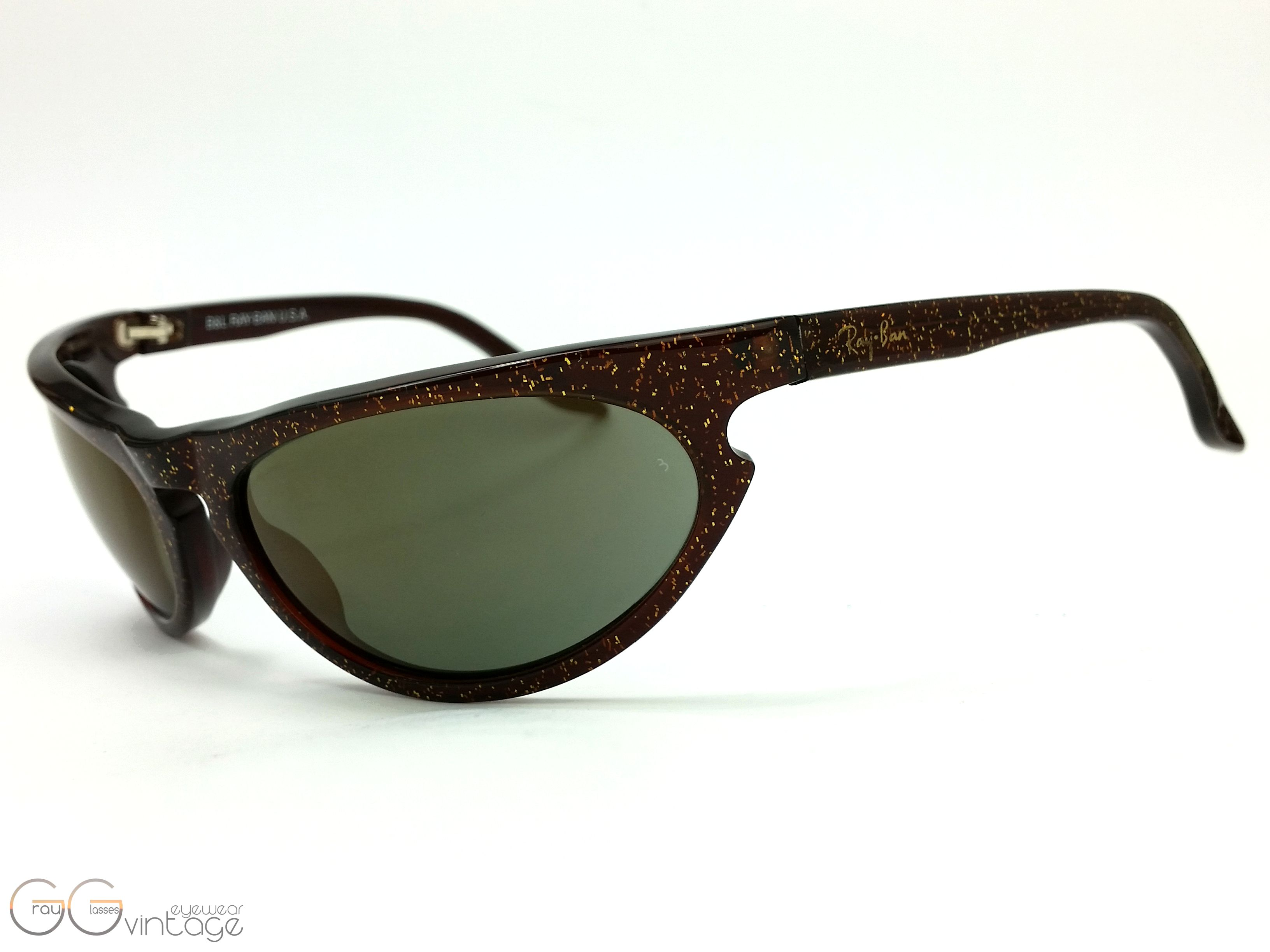 98176440ed ... Preview  Ray-Ban B   L U.S.A Model W2354 Side Street GrauGlasses ...