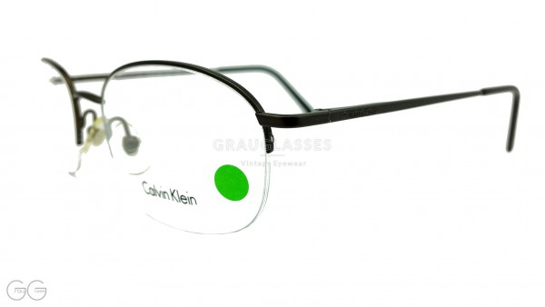 Calvin Klein Vintage Glasses model 263 Color 589 - halfrim