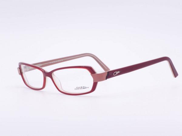 Wine red modern Cazal Conzept women plastic frame model 503 rectangular ladies eyewear GrauGlassses