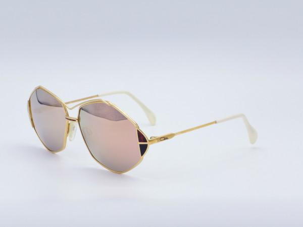 CAZAL ladies sunglasses in gold mirrored lenses modell 233 | GrauGlasses