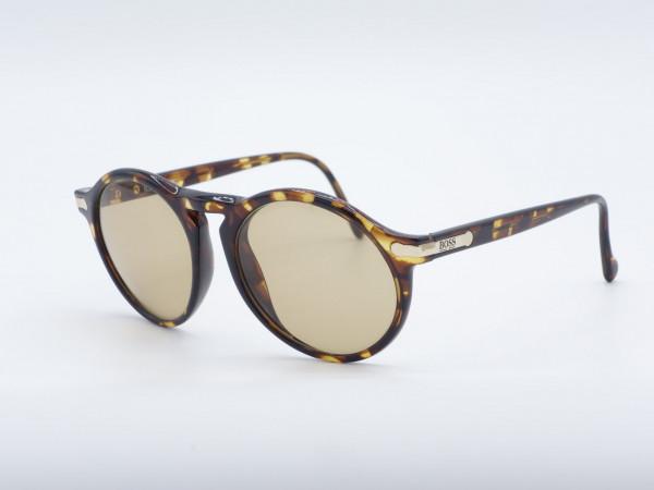 HUGO BOSS 5160 Panto Amber Brown Men Sunglasses GrauGlasses