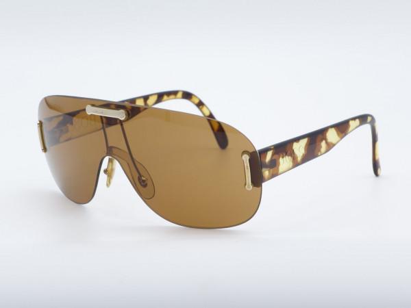 HUGO BOSS 5155 Schild Braun Bernstein Oversized Mann Sonnenbrille Herren Modell GrauGlasses