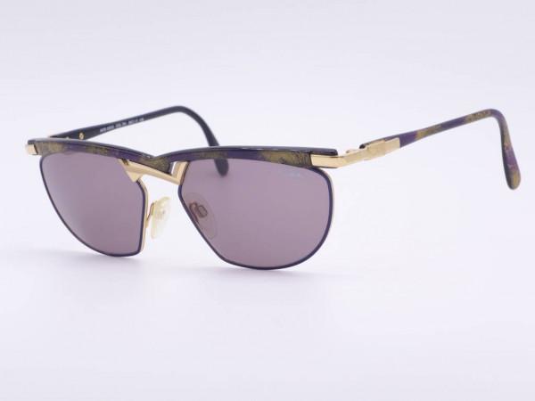 Purple gold marbled Cazal vintage women sunglasses luxury frame model 252 90s Cari Zalloni GrauGlasses
