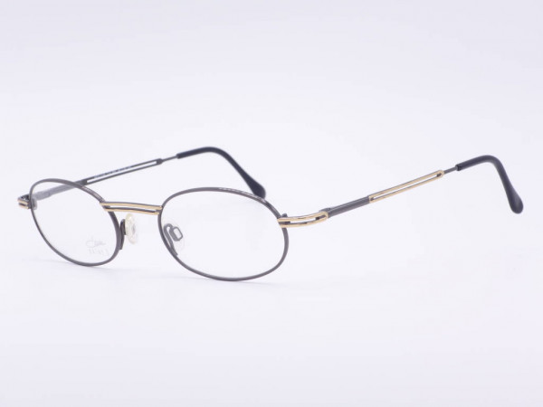 Cazal oval women glasses metal frame black gold ladies model 1142 Color 894 GrauGlasses
