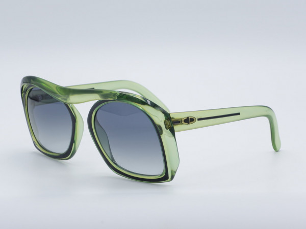 DIOR 2043 Oversize Butterfly Green sunglasses Special Unique Woman men frame GrauGlasses