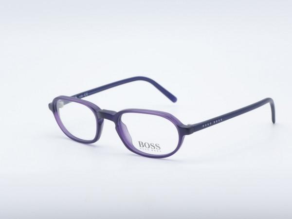 HUGO BOSS 1524 oval purple women glasses Modern women frame GrauGlasses