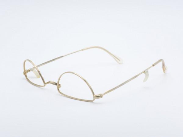 Distance glasses golden nickel glasses vintage old frame 30s 40s 50s GrauGlasses